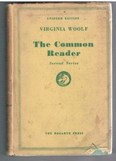 The Common Reader.  Second Series.