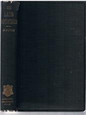 MAYOR, John E. B. (critically reviewed by)