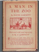 A Man in the Zoo. Illustrated with wood engravings.