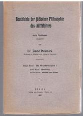 NEUMARK, Dr David