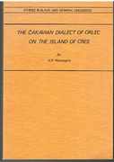 The Cakavian Dialect of Orlec on the Island of Cres.