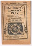 Old Moore's Almanack 1957. Blakemore's Edition