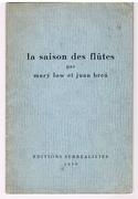 La saison des flûtes. (Association Copy Fredric Warburg George Orwell POUM)