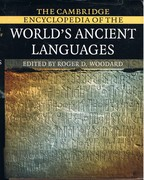 The Cambridge Encyclopedia of the World's Ancient Languages.