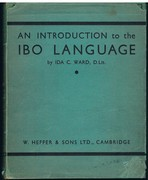An Introduction to the Ibo Language [Igbo].