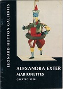 Alexandra Exter Marionettes. Created 1926.