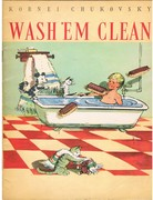 Wash 'em Clean. Soviet Children's Library.  For Tiny Tots.