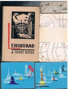 Leningrad. A Short Guide. Second impression. Translated from the Russian.  Designed by Y. Golyakhovsky. Photographed by D. Smirnov.