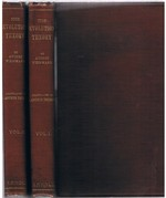 The Evolution Theory. Vol I & Vol. II. Translated with the author's co-operation by J. Arthur Thomson and Margaret R. Thomson.  Illustrated. In two volumes.
