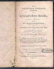 DIEZ, Heinrich Friedrich von [A Tholuck]