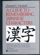 A Guide to Remembering Japanese Characters. Tuttle Language Library.