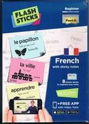 Beginner French with sticky notes. Flash Sticks Flashsticks. Box Set.