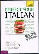 Perfect Your Italian. Teach Yourself. Book with 2 CDs. Boxed set.