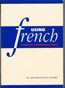 Using French: a guide to contemporary usage. Second Edition, reprint.