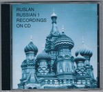 Ruslan Russian 1 CD: Russian 1 recordings on CD [no book].