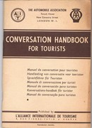 Conversation Handbook for Tourists.