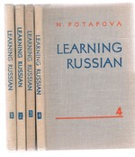 Learning Russian: 1, 2, 3 4 Four volume set complete. Edited and translated.