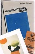Konstruktywizm polski: [Polish Constructivism]. Proba rekonstrukcji nurtu (1921-1934).  With Galeria Lambert ephemera
