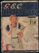 G.E.C. Cookery Book: Price 1/6 New Edition.