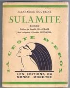 Sulamite: La geste d'eros. Roman. Traduit du Russe par Marc Semenoff & S. Mandel. Préface de Camille Mauclair. Bois originaux d'Andrée Sikorska.