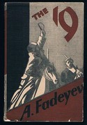 The Nineteen 19: [Razgrom]. Translated by R. D. Charques. First English 1s. edition.
