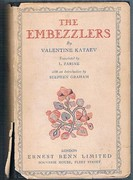 The Embezzlers: Translated by L[eonide] Zarine. With an Introduction by Stephen Graham.
