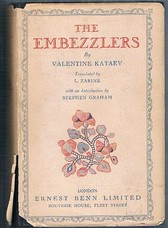KATAEV KATAYEV, Valentine Kataiev (Intro. Stephen Graham,trans by L. Zarine)
