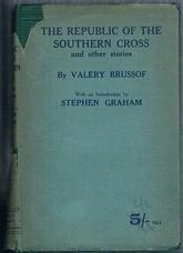 BRUSSOF, Valery (Briusov, Bryusov) (Ed. Stephen Graham).