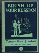 Brush up your Russian (Osvezhite svoi russkii).  With illustrations by P. R. Ward. Conversations of Real Use. General Editor W. G. Hartog.