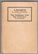Lazarus [with] The Gentleman from San Francisco. Lazarus by Leonid Andreyev and The Gentleman from San Francisco by Ivan Bunin. Translated by Abraham Yarmolinsky.  Stratford Universal Library.